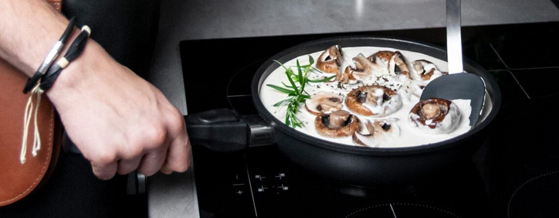 Patelnie i garnki na kuchenkę indukcyjną