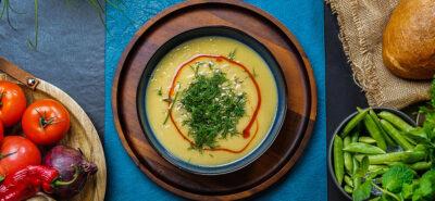 Wiosenny obiad: zupa krem & kaszotto